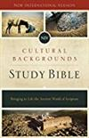 NIV Cultural Backgrounds Study Bible: Bringing to Life the Ancient World of Scripture -  Study Bibles